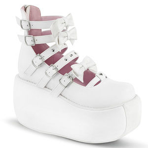 Platform Stud Bow Cosplay Buckle Punk Shoes